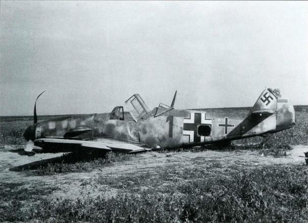 Bf 109F2 11.JG51  Heinrich Klopper WNr 8945-Russie Juillet 26 1941