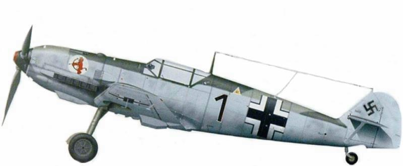 Bf.109E-2 deWolfgang Ewald. 2.jg52 Calais, France. 1940