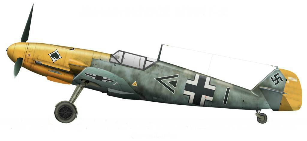 Bf109F-2_Wilcke_JG53_1941