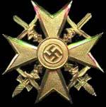 Croix d'Espagne en Or