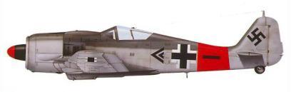 Fw 190A8 Stab II.JG1 Paul Heinrich Dahne Mecklembourg février 1945