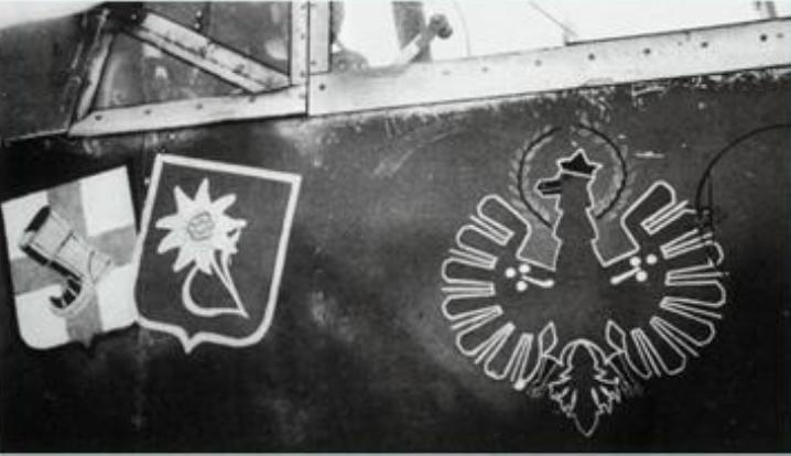 Heinz Meyer emblèmes JG 5 109F-4 Finland