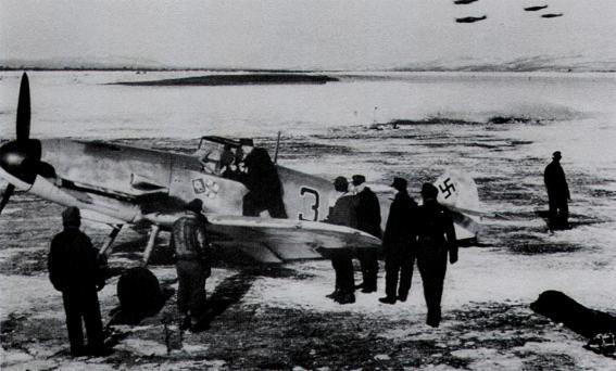 Me Bf 109 F-4 - Hermann Segatz - 8.JG5 - Finlande 1943.