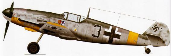 Me Bf 109 F-4 - Hermann Segatz - 8.JG5 - Finlande 1943