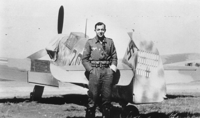 Me Bf 109 G-6, Alfred Miksch, 8.JG1 - Pays-Bas 1943