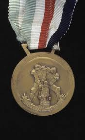 médaille italo allemande Afrique