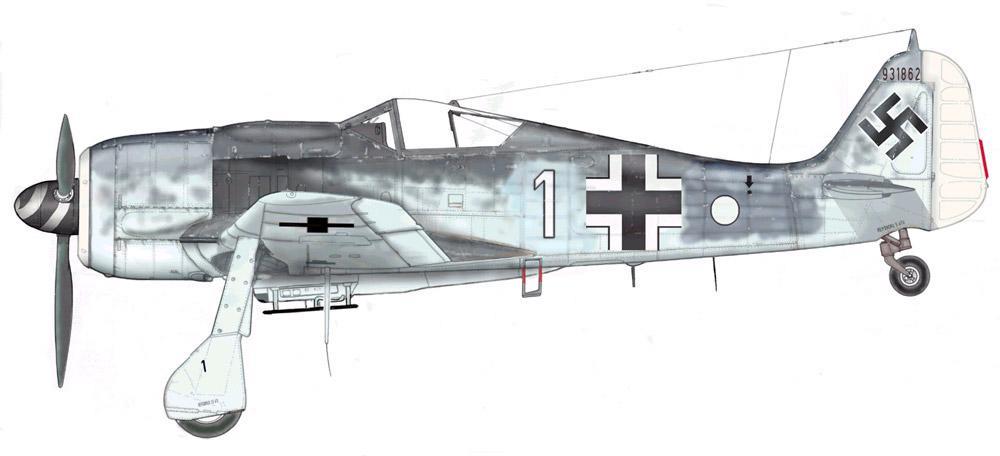 Werner Gaiko Fw 190A 8