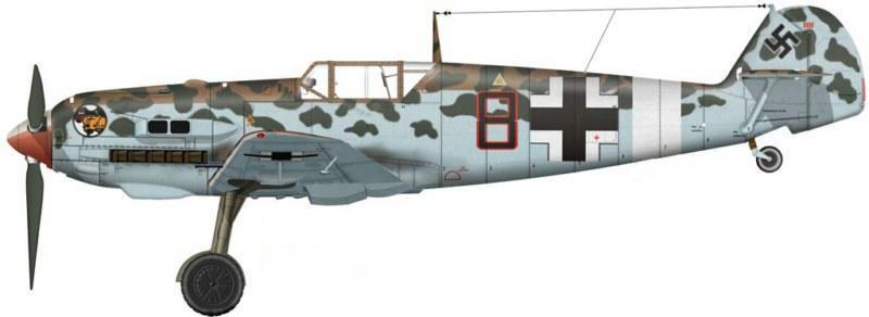 Werner Schroer Bf109E