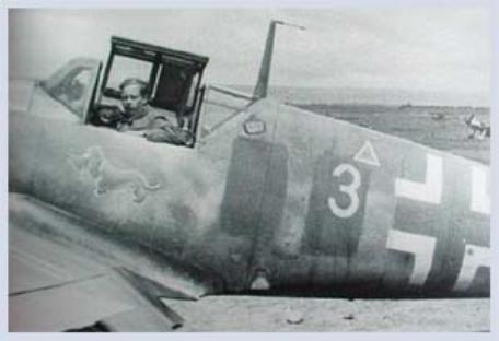 Bf 109G 4 de Hans Waldmann 6JG52 Russie Juin 1943