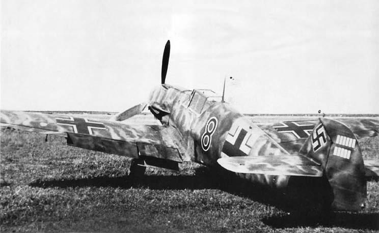Fritz. Tegtmeire. Bf 109F-4 du 2-JG54 Russie 1941