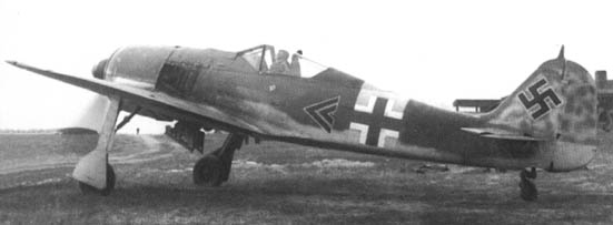 Fw.190A-6, I.JG 54,Walter Nowotny. East Front, October , 1943.