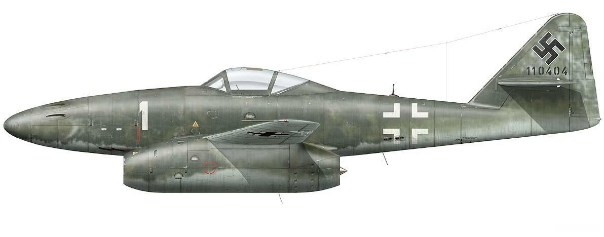Me 262 Franz Schall - Kommando Nowotny