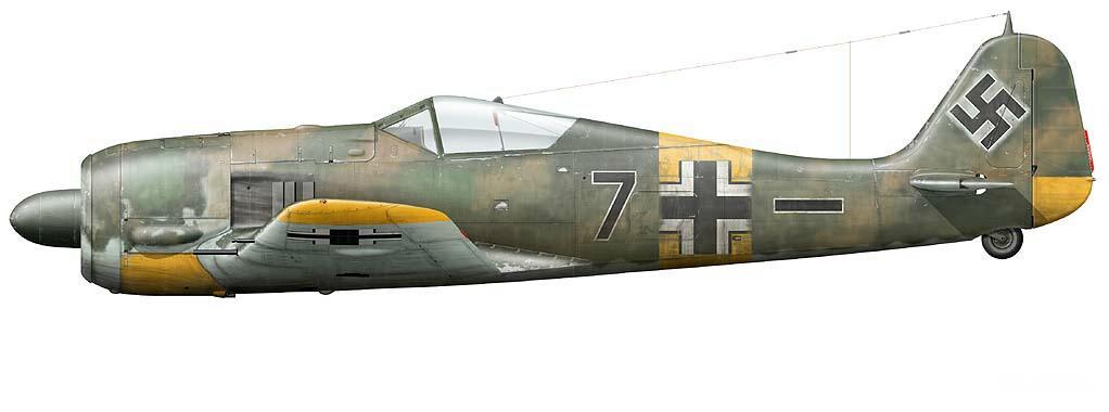 1 - Emil Lang Fw 190 A-5