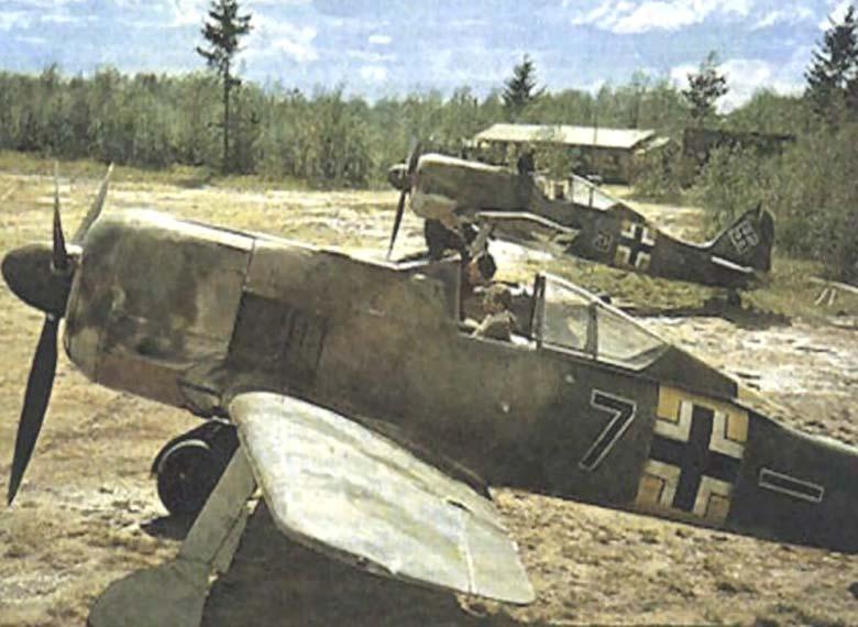 1 - Fw190 A-5 d'Emil Lang - 5.JG54-Siverskaya USSR, Mai 1943.