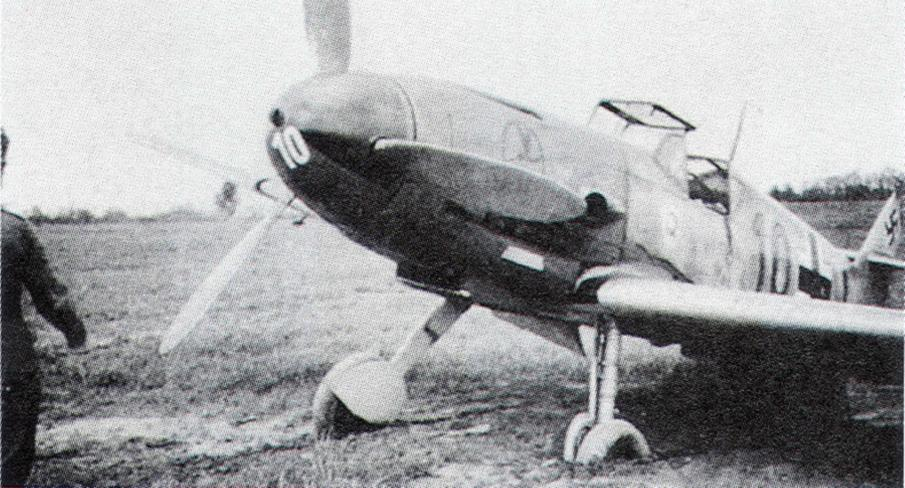 13 - Bf 109F-2 de Wilhelm Hofmann, 9.JG2, France 1941