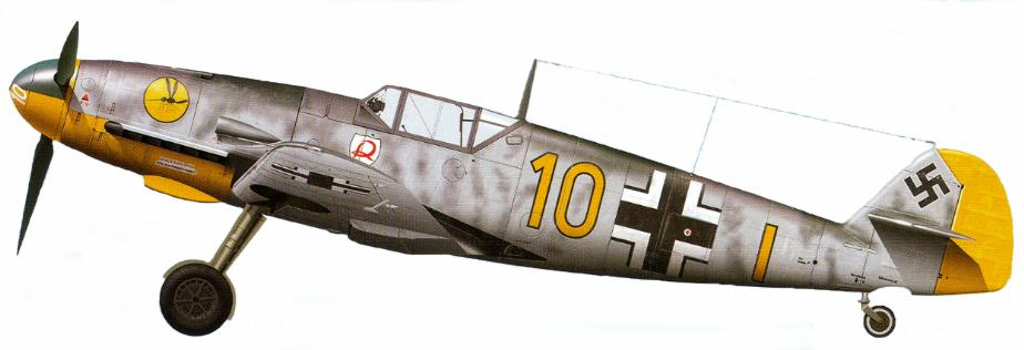 13 - Bf 109F2 du 9.JG2, pilote Wilhelm Hofmann, France 1941
