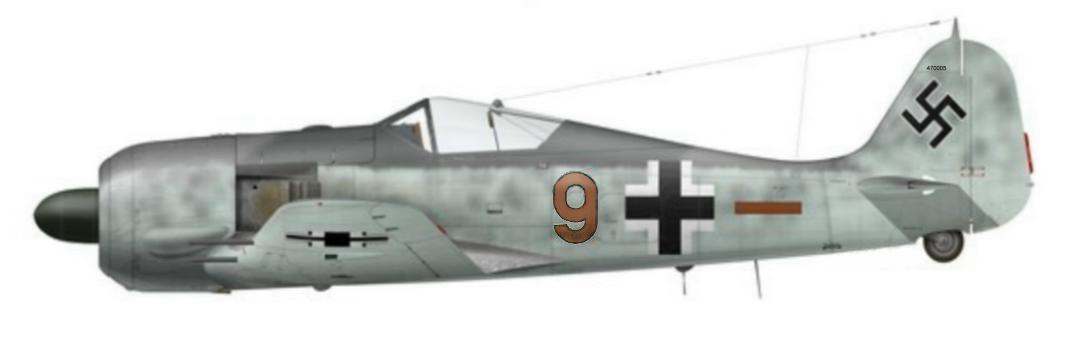 24 -Fw 190 A-6, de Wilhelm Mayer - 5.JG 26 - Cambrai Epinoy, France 1943
