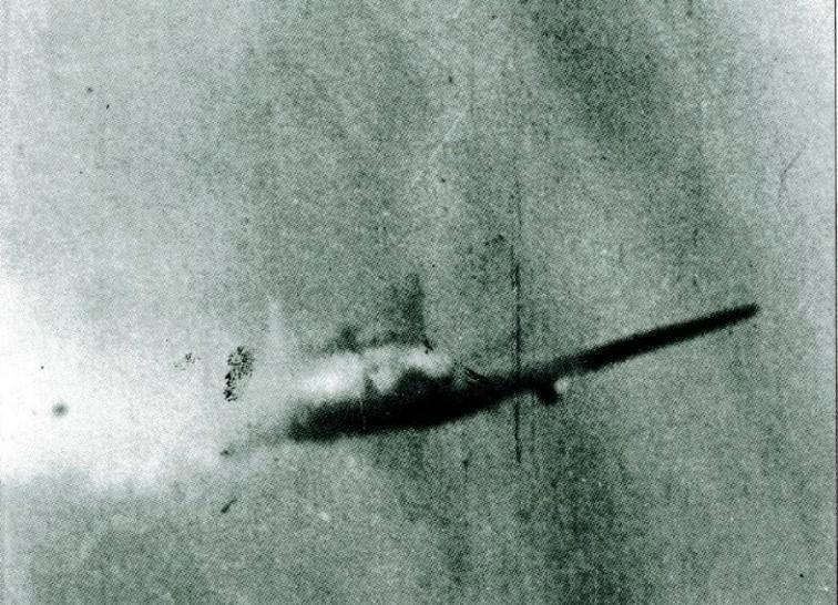 4- Me Bf109 G-4 de Kemethmüller abattu par le Lt.Col McCollom