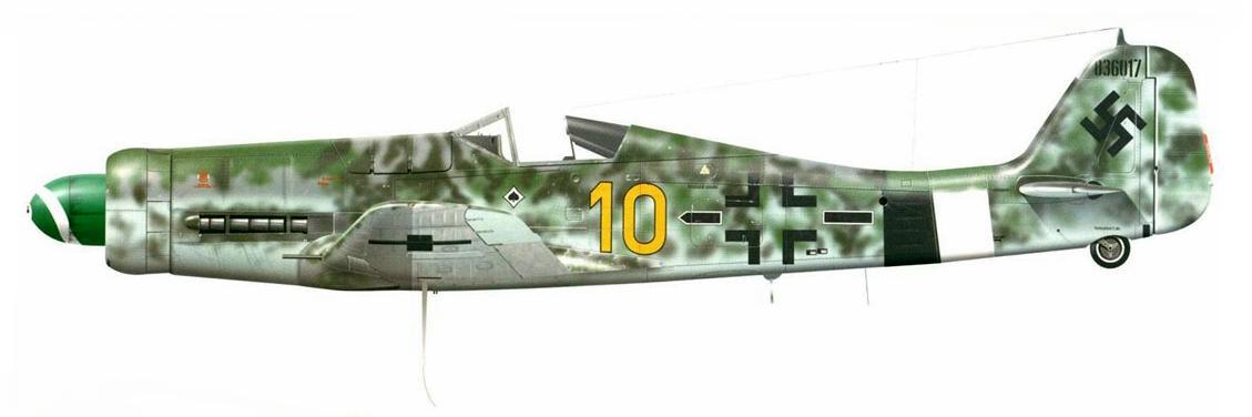 7 - fw190D13 JG26 de Franz Götz, Allemagne 1945